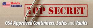 7110-01-029-8059 | Class 6, 5 Drawer Multi-lock file cabinet, Black