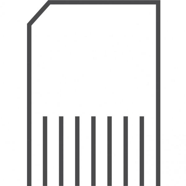Pale cut departmental gsa paper shredder strip FIERCE HOT