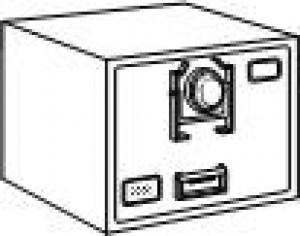 7110-01-015-2851 | Class 6 Army Field Safe, Single Lock, Black